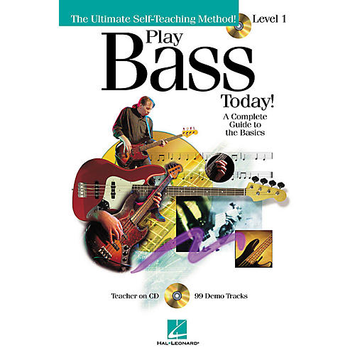 Hal Leonard Play Bass Today! - Level 1 Play Today Instructional Series Series Softcover with CD by Chris Kringel