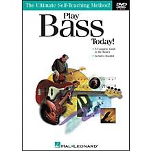 Hal Leonard Play Bass Today! DVD