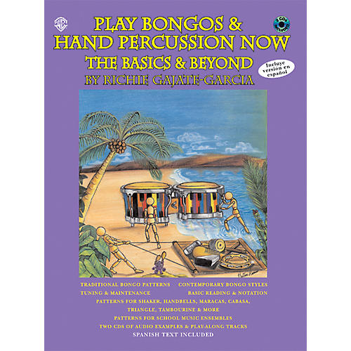 Alfred Play Bongos and Hand Percussion Now - Book and 2-CD Set