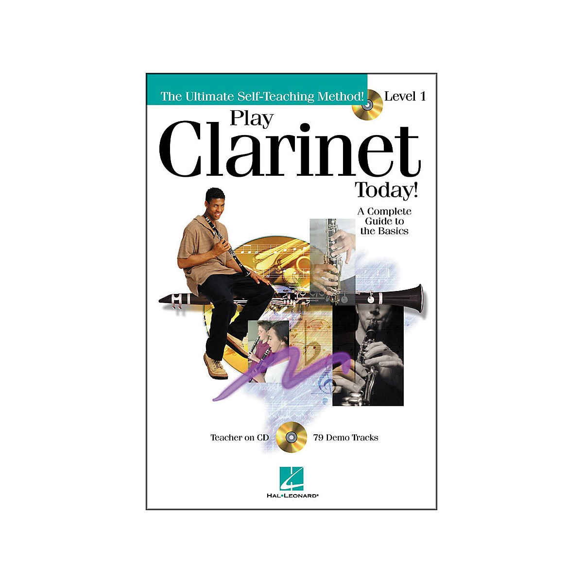 Hal Leonard Play Clarinet Today! Level 1 CD/Pkg