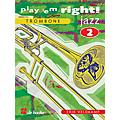De Haske Music Play 'Em Right Jazz - Vol. 2 (Trombone) De Haske Play-Along Book Series Composed by Erik Veldkamp thumbnail