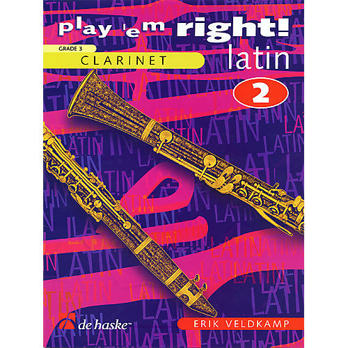 De Haske Music Play 'Em Right Latin - Vol. 2 (Vol. 2 - Clarinet) De Haske Play-Along Book Series