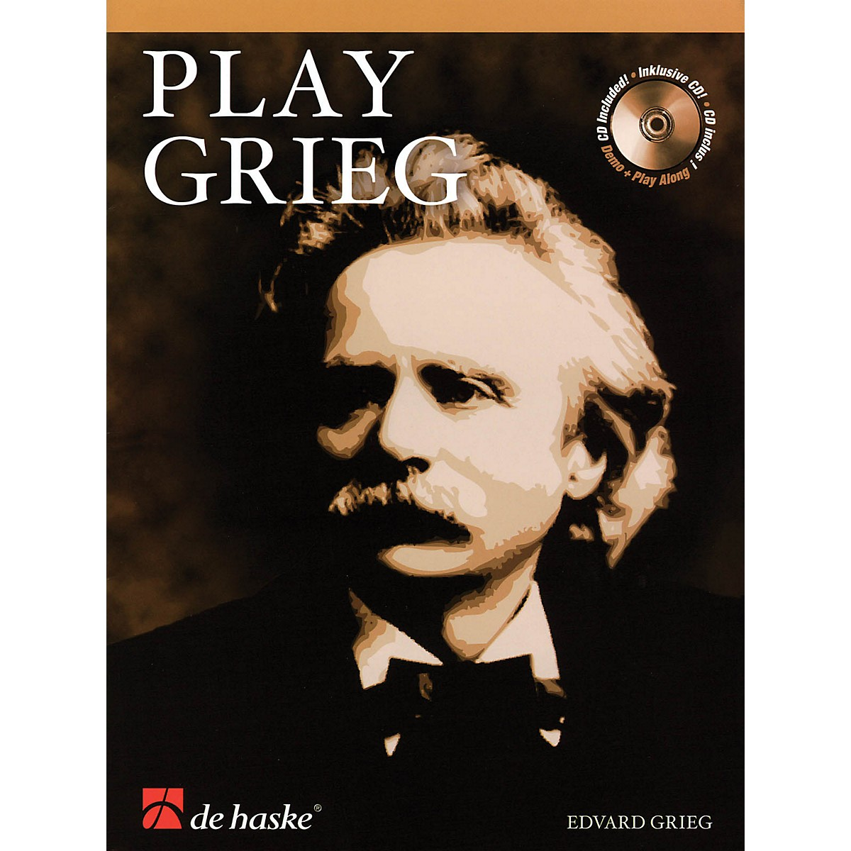 De Haske Music Play Grieg (for Clarinet) De Haske Play-Along Book Series BK/CD