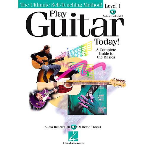 Hal Leonard Play Guitar Today! - Level 1 Book/CD