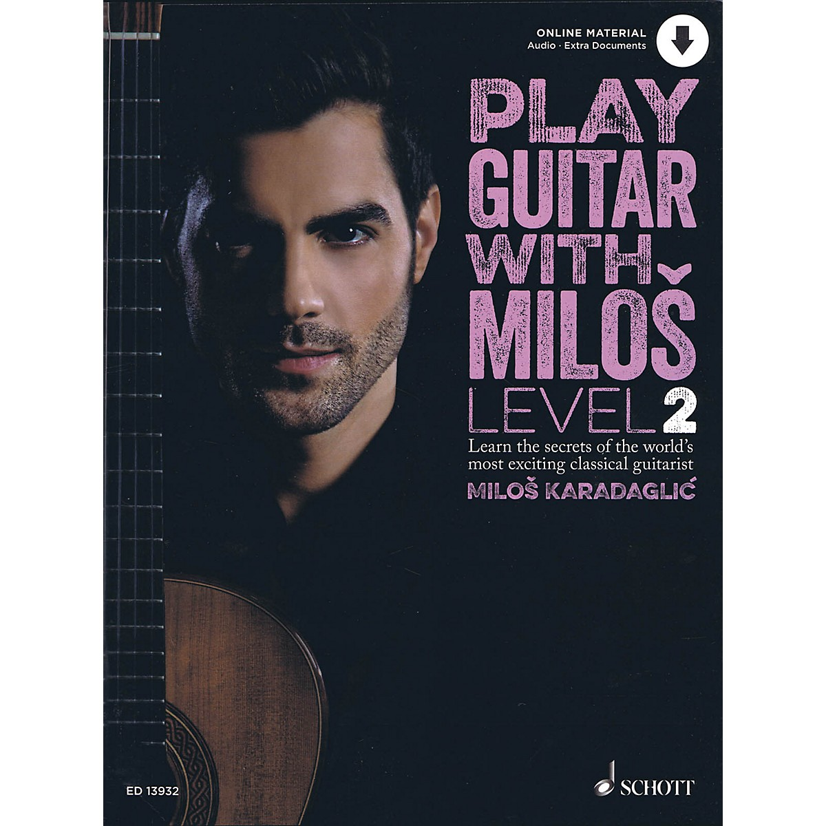Schott Play Guitar with Milos Level 2 Book/Audio Online