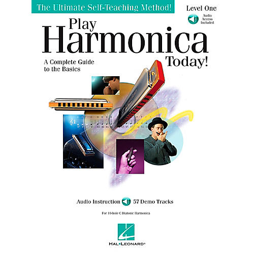 Hal Leonard Play Harmonica Today! Level One Book/CD