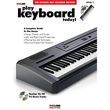 Proline Play Keyboard Today! (Book/CD)
