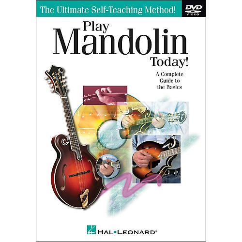Hal Leonard Play Mandolin Today! DVD
