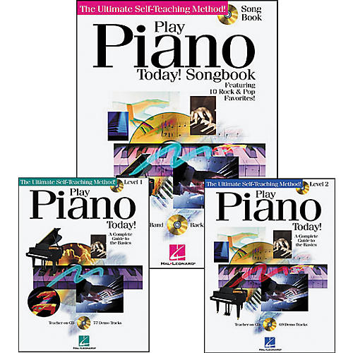 Hal Leonard Play Piano Today Pack (Book/CD)