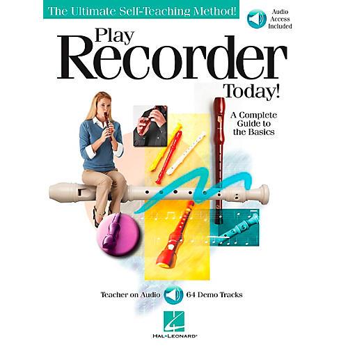 Hal Leonard Play Recorder Today (Book/CD)