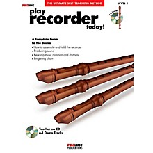 Proline Play Recorder Today!  Book/CD