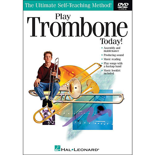 Hal Leonard Play Trombone Today! DVD