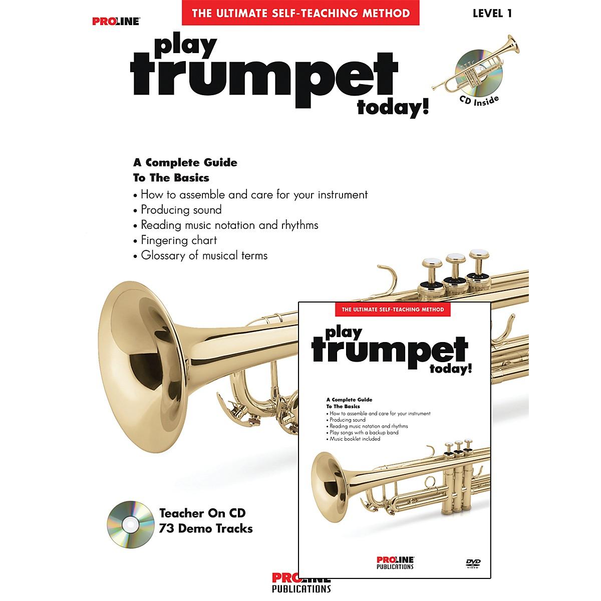Proline Play Trumpet Today Beginner's Pack Book/CD/DVD