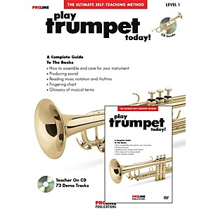 Proline Play Trumpet Today Beginners Pack Book/CD/DVD by Proline