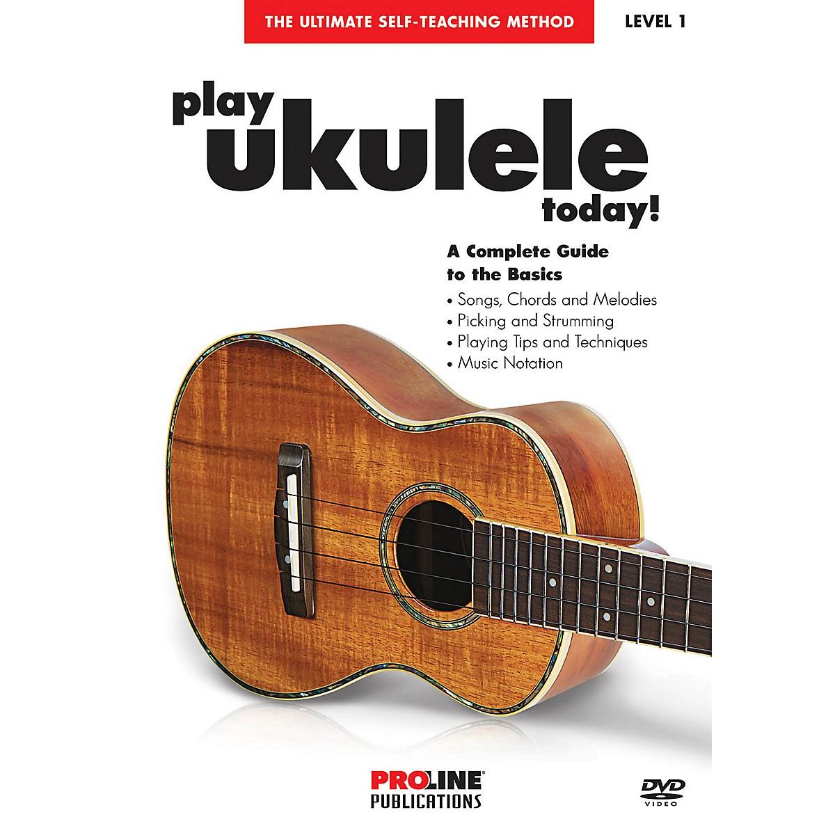 Proline Play Ukulele Today DVD