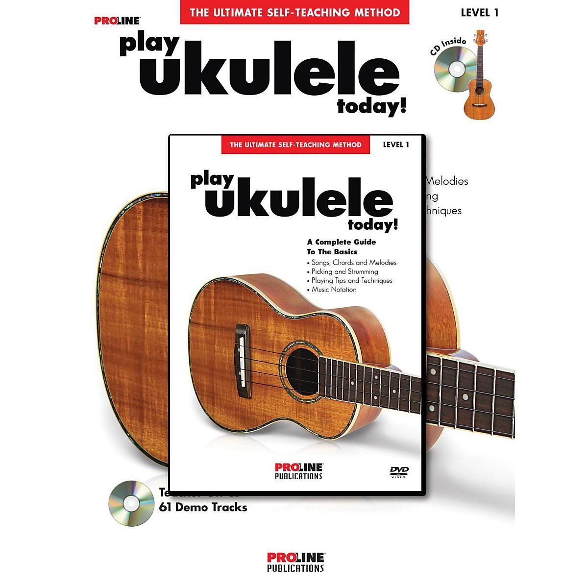 Proline Play Ukulele Today! Method (Book/CD/DVD)