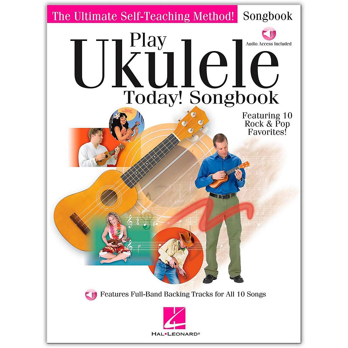 Hal Leonard Play Ukulele Today! Songbook (Book/Online Audio)