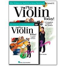 Hal Leonard Play Violin Today! Beginner's Pack - Includes Book/CD/DVD