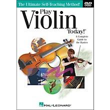 Hal Leonard Play Violin Today! DVD