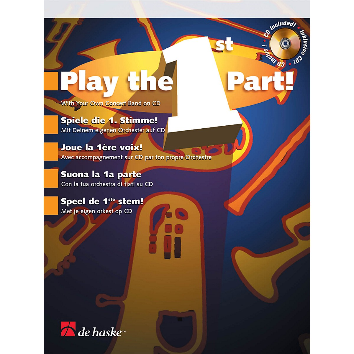 De Haske Music Play the 1st Part! - Bb Clarinet De Haske Play-Along Book Series BK/CD