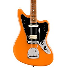 Player Jaguar Pau Ferro Fingerboard Electric Guitar Capri Orange