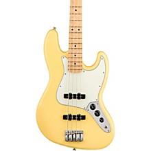 Player Jazz Bass Maple Fingerboard Buttercream