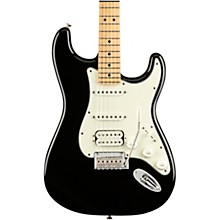 Player Stratocaster HSS Maple Fingerboard Electric Guitar Level 2 Black 190839890030