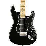 Player Stratocaster HSS Maple Fingerboard Limited Edition Electric Guitar Black