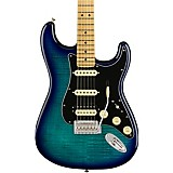 Fender Player Stratocaster HSS Plus Top Maple Fingerboard Limited-Edition Electric Guitar Blue Burst