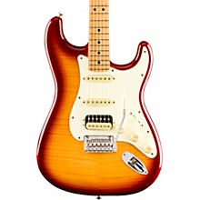 Player Stratocaster HSS Plus Top Maple Fingerboard Limited-Edition Electric Guitar Sienna Sunburst