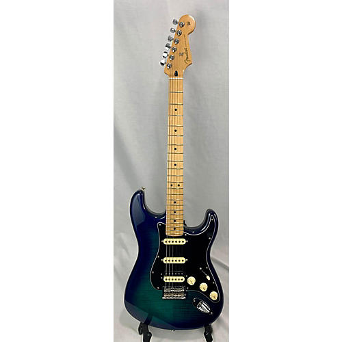 Fender Player Stratocaster HSS Plus Top Solid Body Electric Guitar