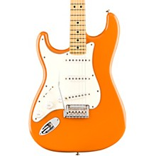 Player Stratocaster Maple Fingerboard Left-Handed Electric Guitar Capri Orange