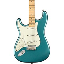 Player Stratocaster Maple Fingerboard Left-Handed Electric Guitar Tidepool