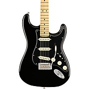 Player Stratocaster Maple Fingerboard Limited Edition Electric Guitar Black