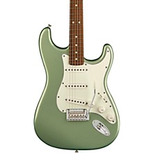 Player Stratocaster Pau Ferro Fingerboard Electric Guitar Sage Green Metallic