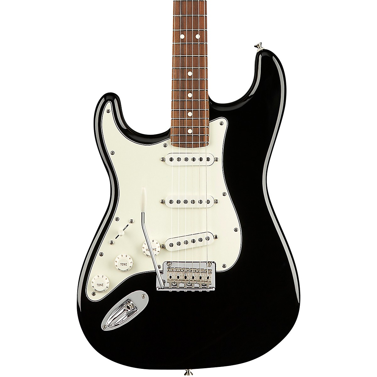 Fender Player Stratocaster Pau Ferro Fingerboard Left-Handed Electric Guitar