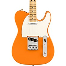 Player Telecaster Maple Fingerboard Electric Guitar Capri Orange