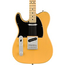 Player Telecaster Maple Fingerboard Left-Handed Electric Guitar Butterscotch Blonde