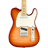 Fender Player Telecaster Plus Top Maple Fingerboard Limited-Edition Electric Guitar Sienna Sunburst