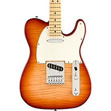 Player Telecaster Plus Top Maple Fingerboard Limited-Edition Electric Guitar Sienna Sunburst