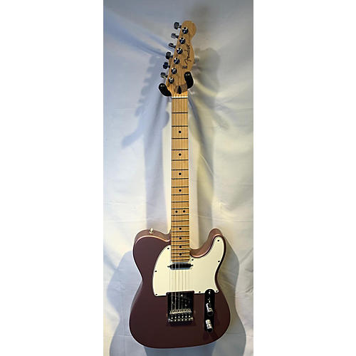 used fender player telecaster solid body electric guitar burgundy mist guitar center. Black Bedroom Furniture Sets. Home Design Ideas