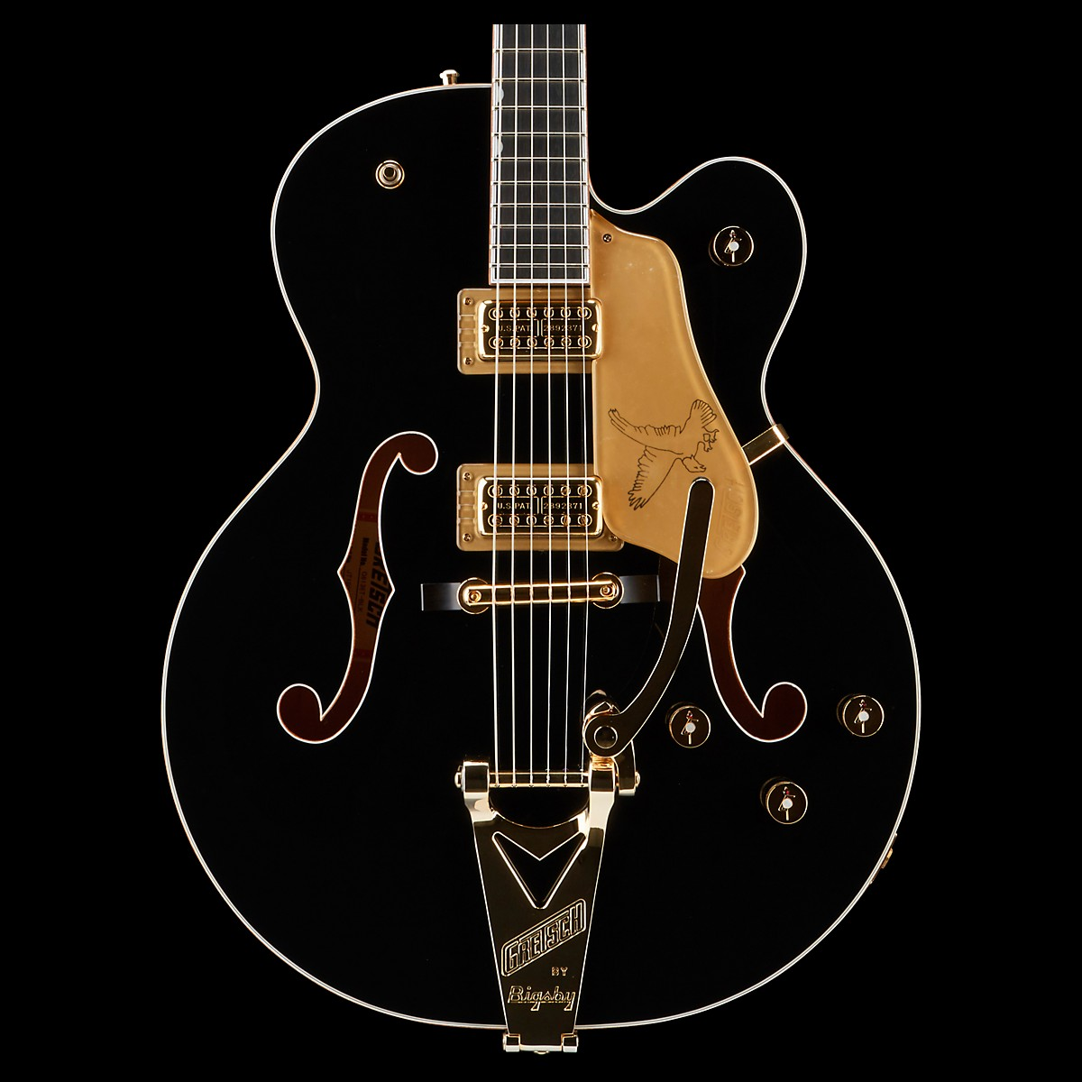 Gretsch Guitars Players Edition G6136T Falcon Hollowbody with String-Thru Bigsby Electric Guitar