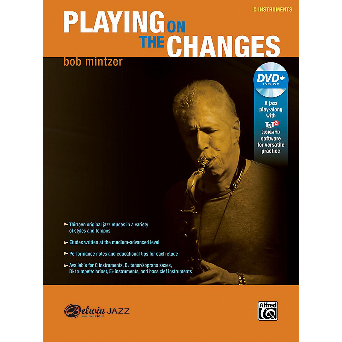 BELWIN Playing on the Changes C Instruments Book & DVD