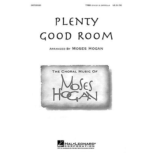 Hal Leonard Plenty Good Room TTBB Div A Cappella arranged by Moses Hogan