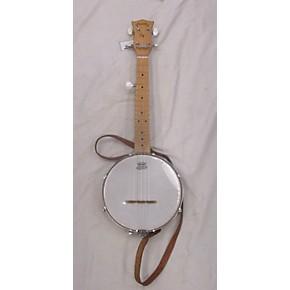 used gold tone plucky gt mini banjo banjo natural guitar center. Black Bedroom Furniture Sets. Home Design Ideas
