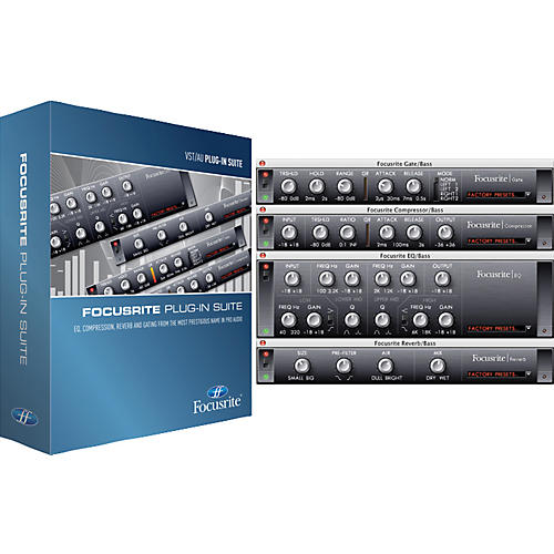 Focusrite Plug-In Suite Software