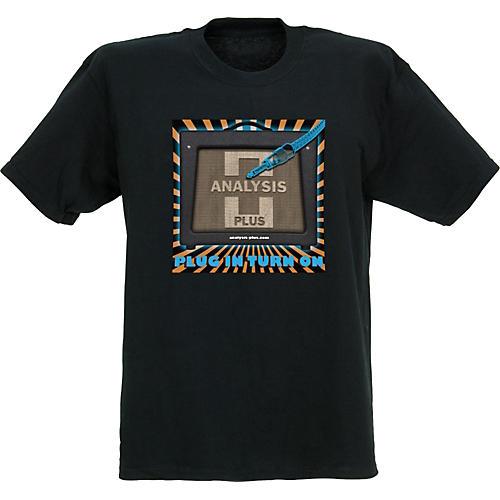 Analysis Plus Plug In T-Shirt, Black