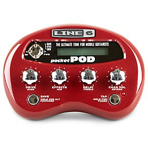 line 6 pocket pod guitar multi effects processor guitar center. Black Bedroom Furniture Sets. Home Design Ideas