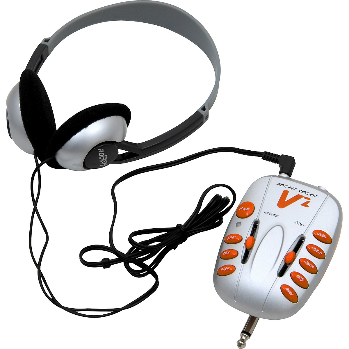 C Tech Pocket Rockit V2 Guitar Headphone Amplifier