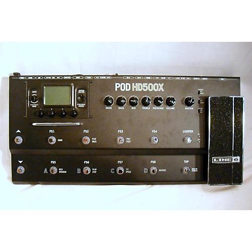 used line 6 pod hd500x amp modeler effect processor guitar center. Black Bedroom Furniture Sets. Home Design Ideas